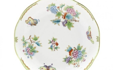 "Herend Porcelain ""Queen Victoria"" Bowl"