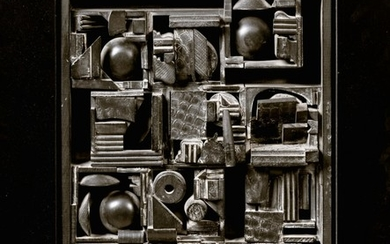 LOUISE NEVELSON   CITY SPACE SCAPE III
