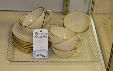 Lenox Olympia Cups & Saucers
