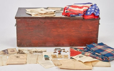 Marcellus Messer Archive incl. Trunk