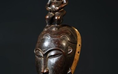 Mask - Wood - Baule - Ivory Coast
