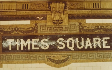 (NEW YORK CITY SUBWAY) A suite of 26 color photographs of s