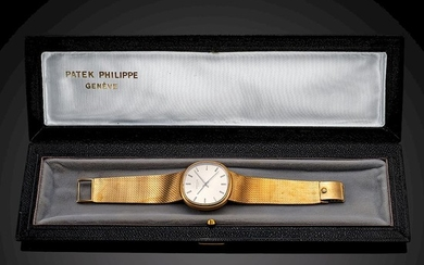 PATEK PHILIPPE GOLDEN ELLIPSE. 18K YELLOW GOLD. REF. 3586-I