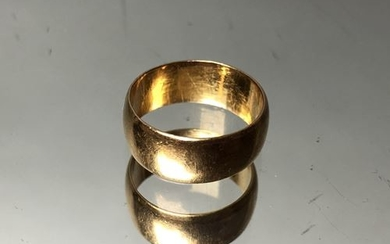 Ring, gold. AC. Weight: 7.8g.