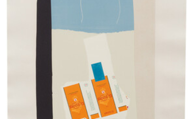 Robert Motherwell: Harvest, with Orange Stripe (from Summer Light Series)
