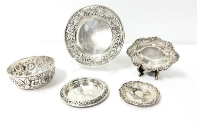 S. KIRK & SONS STERLING SILVER TABLEWARES 13.3 tro