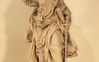 Sculpture, San Paolo - 70 cm (1) - Marble - Mid 20th century