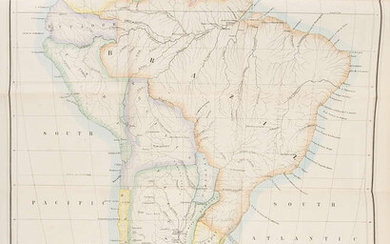 South America.- Hadfield (William) Brazil, the River Plate, and the Falkland Islands, first edition, 1854.