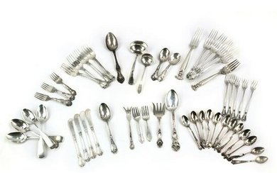 Sterling Silver Flatware MIXED LOT 1,335 Grams