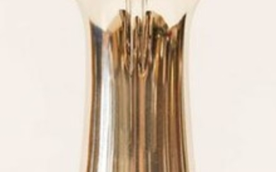 Tiffany & Co. Sterling Silver Acanthus Vase 14''x5''.