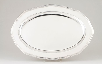 Tray - .833 silver - Portugal - Late 20th century