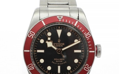 Tudor: A gentleman's wristwatch of steel. Model Heritage Black Bay, ref. 79220R. Mechanical movement with automatic winding. Cal 2824–2. 2013.