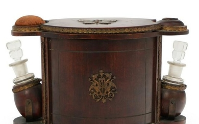 Victorian Wooden Vanity Music Box