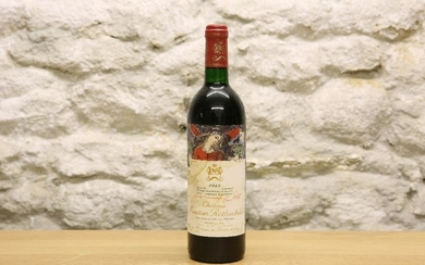 1 BOTTLE CHATEAU MOUTON ROTHSCHILD PREMIER GRAND CRU
