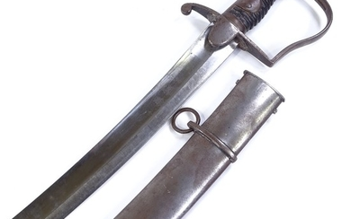 1796 Pattern Light Cavalry Sabre, with original scabbard and...
