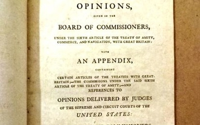 1800 Pamphlet Treaty Commerce w/ Great Britain