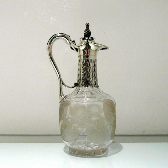 19th Century Antique Victorian Sterling Silver &