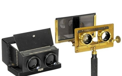 2 Stereo Viewers, c. 1880
