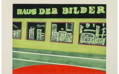 65018: Peter Doig (b. 1959) Haus der Bilder, 2001 Aquat