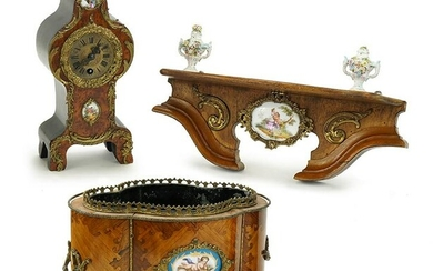 A Collection of French Decorative Items.