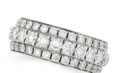 A DIAMOND ETERNITY RING, PICCHIOTTI in 18ct white gold