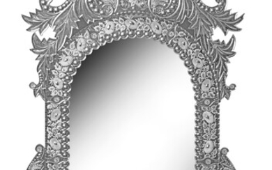 A Magnificent Artistic Mirror in Venetian Style