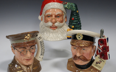 A Royal Doulton limited edition large Santa Claus character jug, D7123, a special edition of 1500 co