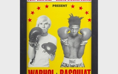 After Andy Warhol (1928-1987) and Jean-Michel Basquiat