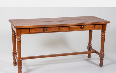 American Walnut Library Table