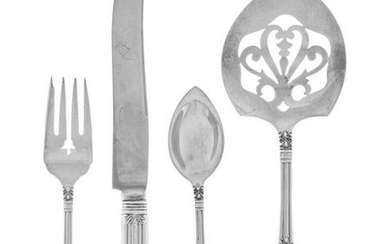 An American Silver Flatware Service Manchester Silver