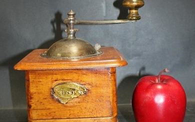 Antique American coffee grinder