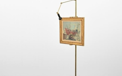 Arredoluce Illuminated Easel/Floor Lamp