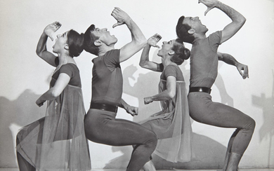 DANCE PHOTOGRAPHY Group of approximately four hundred and fifty ballet photographs