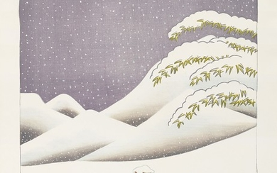 David Hockney, Snow, from Weather Series