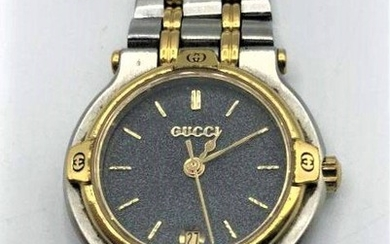 GUCCI Authentic LADIES WRISTWATCH - working; Stainless