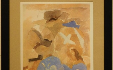 Georges Braque: Sky and Bird from Derriere le Miroir