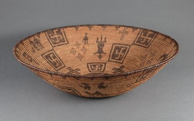 Large Apache Basketry Bowl