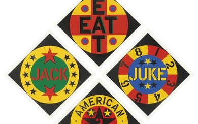 ROBERT INDIANA (1928-2018), The American Dream No. 2