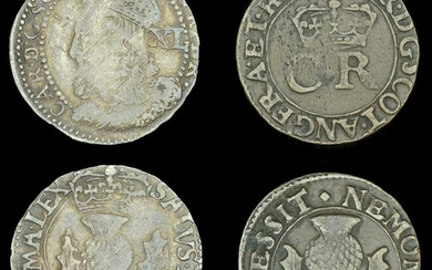 Scottish Coins from Various Properties