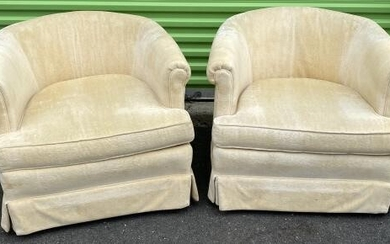 Shuford Furniture Upholstered Barrel / Club Chairs