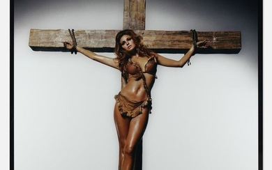 Terry O'Neill, Raquel Welch on the Cross