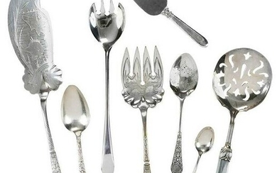 30 Pieces Silver Flatware
