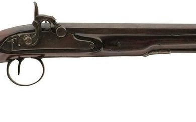 A 22-BORE PERCUSSION DUELLING OR OFFICER'S PISTOL BY