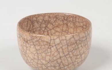A Chinese Ge type crackle glazed bowl, 11cm diameter.