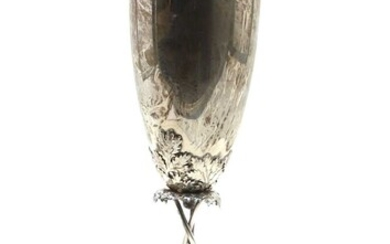 A Continental 835 standard silver goblet