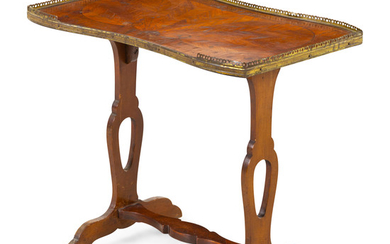 A French Gilt Metal Mounted Marquetry Side Table