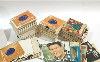 A large collection of Rock and Pop 7 inch singles to include...