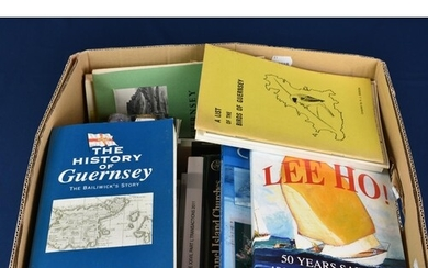 A large quantity of Channel Island interest books and pamphl...