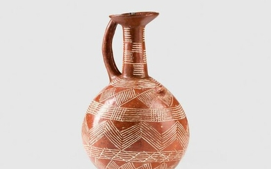 ANCIENT CYPRIOT RED WARE JUG CYPRUS, EARLY / MID BRONZE
