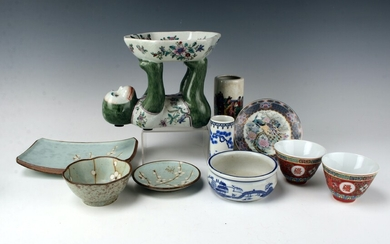ASSORTED CHINESE STYLE PORCELAIN LOT